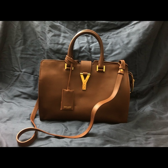 2fda2314278 Saint Laurent Bags | Yves Ysl Small Classic Y Cabas Bag | Poshmark